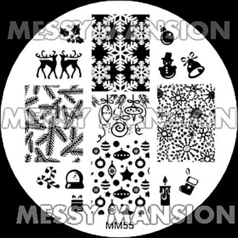 Messy Mansion Image Plate MM55