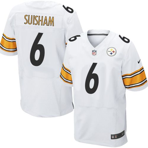 ... Road Shaun Suisham Mens Elite GoldBlack 80th Anniversary Jersey Nike  NFL Pittsburgh Steelers Alternate 6 Throwback Pinterest White Michael Vick  ... cf294ce4b