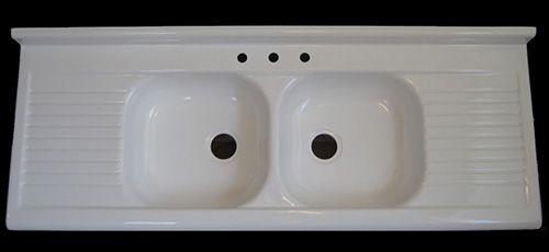 Fiberglass Farmhouse Sink : ... farmhouse drainboard sink now available - big news Sinks, Farmhouse