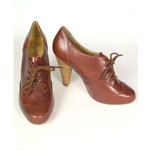 One of my favorite pair of shoes! Seychelles Blimey Brogue Pumps in Whiskey.