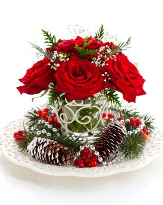 Christmas Floral Arrangements | Christmas Floral Arrangements: