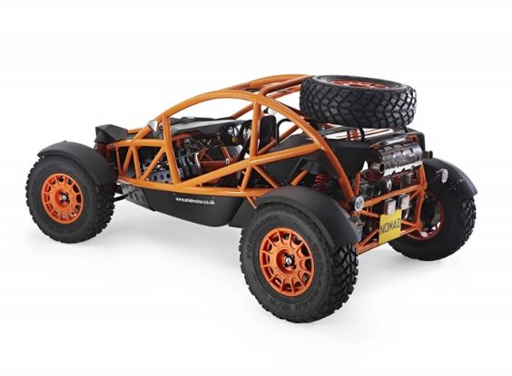 The Ariel Nomad is the Ariel Atom's off-road brother. As with the Atom the Nomad does not lack in the speed department. The 0-60 speed of the Nomad is 3.4 seconds with the top speed hitting 125 mph. The Nomad can be customized in several different colors and options. Set to go on sale this summer starting in the $40k range. Check the video to see the Nomad in action.