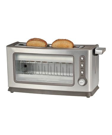 49.99-Love this Two-Slice Stainless Steel Toaster by Kalorik on #zulily! #zulilyfinds 15.8W X 6 H