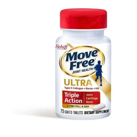 موف فري الترا لالم العظام والغضاريف Move Free Ultra Triple Action 75 Tab Joint Health Healthy Joints Joint Fluid