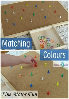 A Great SORTING & MATCHING COLOURS Activity for toddlers. #craftsforkids #appsforkids www.cappuccinoapps.com