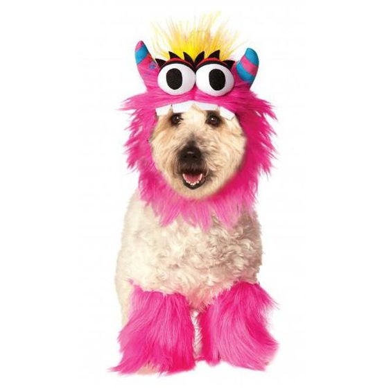 Rubies Monster Halloween Dog Costume - Pink