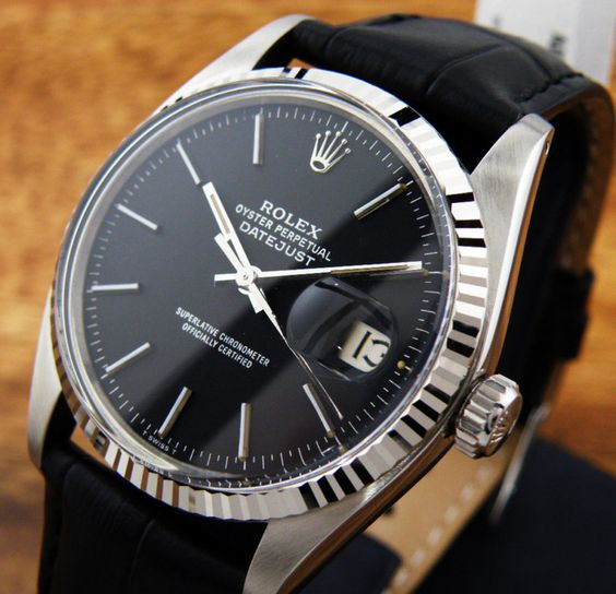 Vintage Rolex Oyster Perpetual Datejust, lovely perpetual! More watches at http://everythingforguys.co.uk