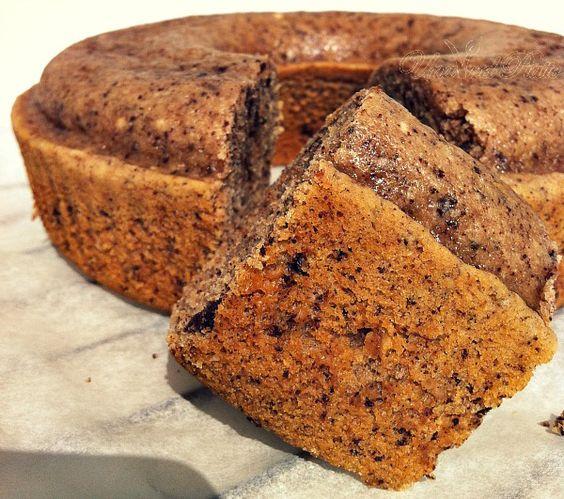 Ciambella ciocconocciolata al latte di riso   Una V nel piatto   Ricette vegane & mondo Vegan