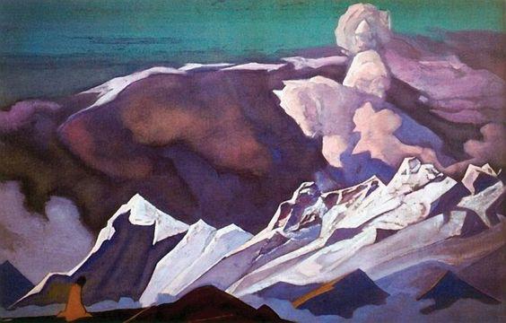 Nicholas Roerich: Kalki Avatar (1932)