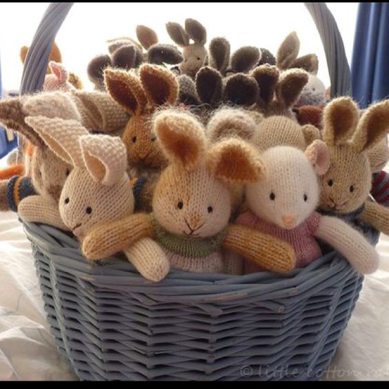 So adorable! From Little cotton rabbits blog