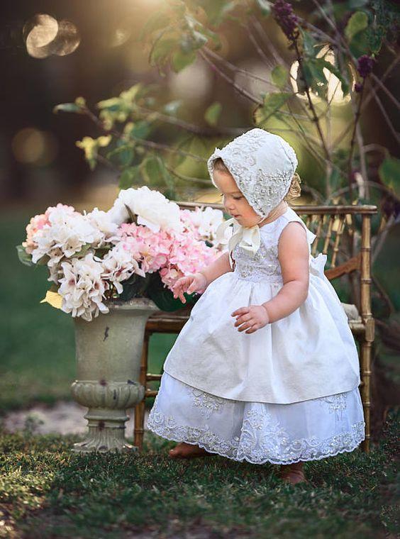 Monserrat-christening-baptism-flower girl-photo