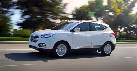 This spring Hyundai will begin leasing a fuel cell powered Tucson and when it goes on sale, drivers will be able to power their it using processed sewage. | See more about Vehicles, Electric Cars and Cars.