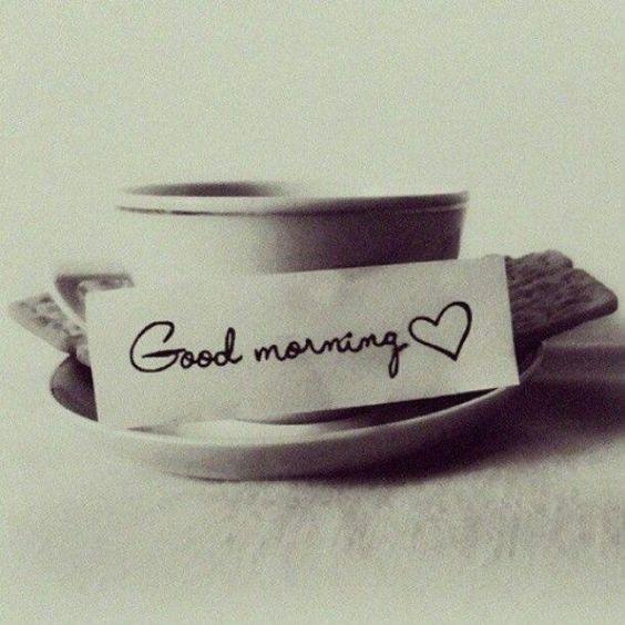 Goooooood morning!