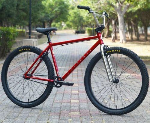 Buy 2020 Fairdale Bike Bmx Taj 26 Candy Red Bicycle Candy