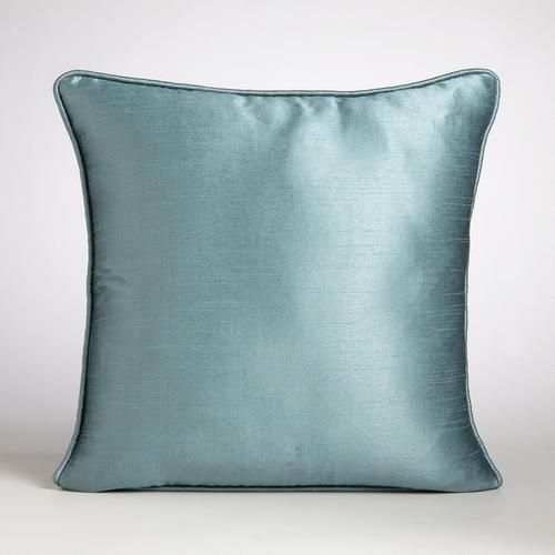 Throw Pillow Patterns Piping : Aegean Dupioni Throw Pillow with Piping Throw pillows, Products and Le veon bell