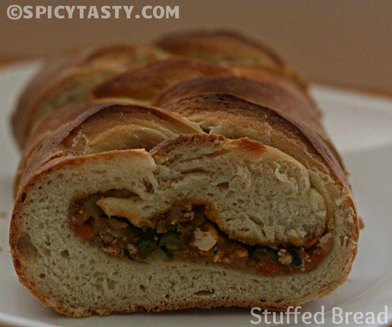 Stuffed Bread | Spicy Tasty