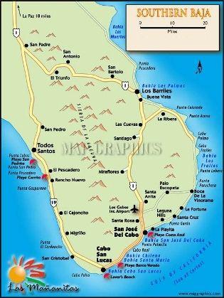 Cabo San Lucas, San José del Cabo, y Todos Santos