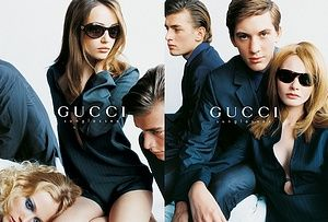 Brand: Gucci . Tom Ford. Season: Spring/Summer 1996. Model(s): Ludovico Benazzo and others . Ph: Mario Testino .