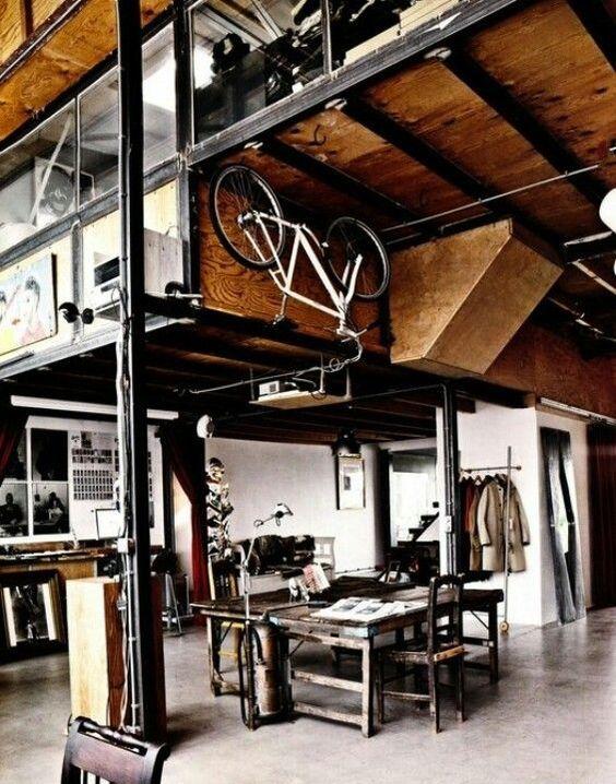 Loft Industrial Interior Design Industrial Chic Eclectic