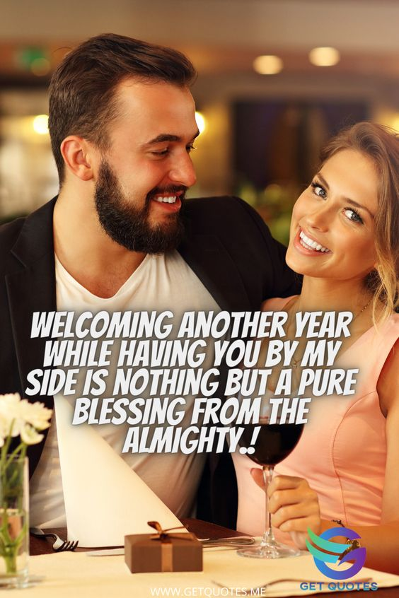 Welcoming another year while having you by my side is nothing but a pure blessing from the Almighty.!