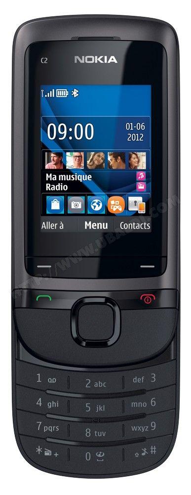 NOKIA C2-05 noir #black #mobile #new