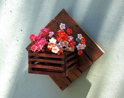 Floreira de parede 30cm