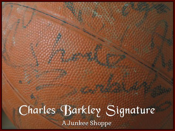 AUTOGRAPHED Basketball Star Signed Through The Decades Not Authenticated Charles Barkley 955  http://ajunkeeshoppe.blogspot.com/