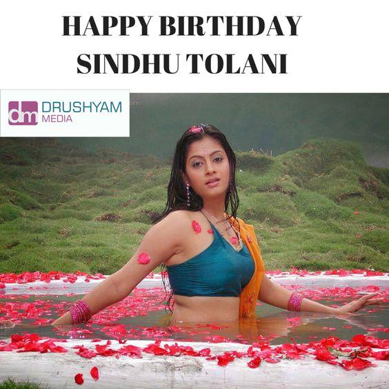 DrushyamMedia Wishes a Very Happy Birthday to Actress #Sindhu #Tolani