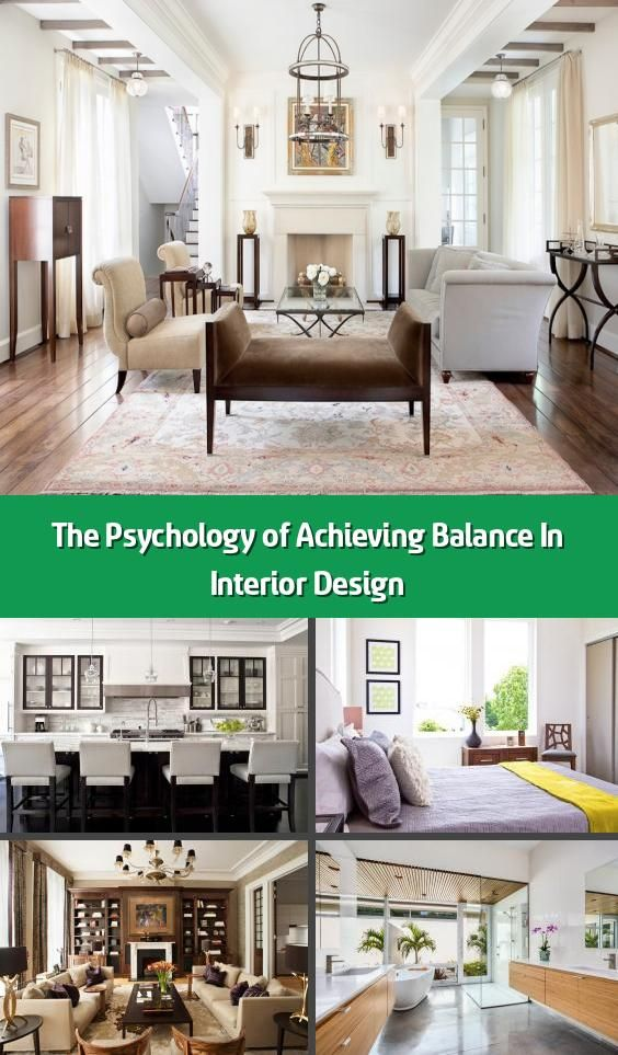 The Psychology Of Achieving Balance In Interior Design In 2020
