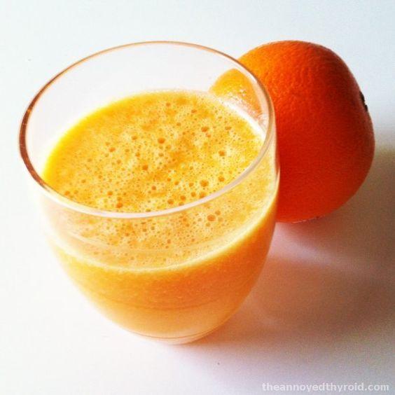 Karotten-und-Orangen-Saft aus dem #Thermomix #Rezept