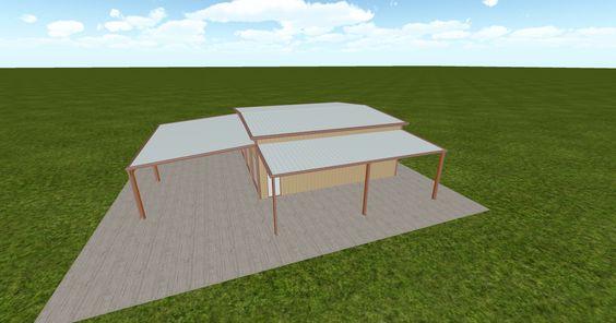 Cool 3D #marketing http://ift.tt/2bJQnRL #barn #workshop #greenhouse #garage #roofing #DIY