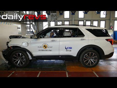 2020 Ford Explorer Euro Ncap Crash Test Youtube In 2020 2020 Ford Explorer Ford Explorer Ford