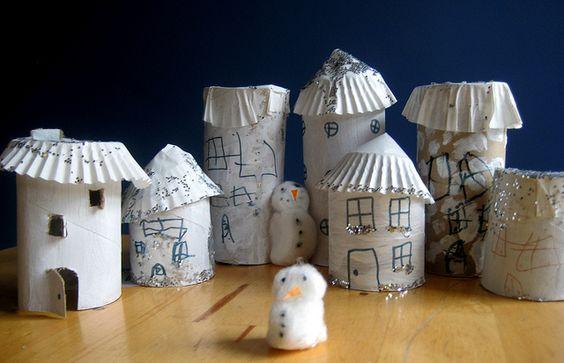model Christmas village by www.nurturestore.co.uk, via Flickr