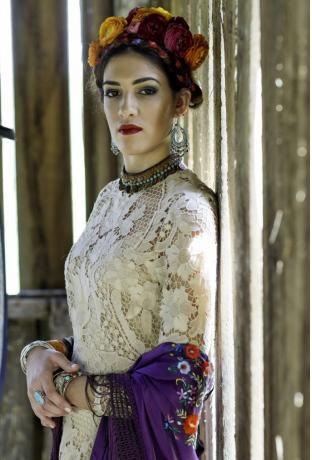 ROMANTIC Mexican lace vintage wedding dress see by thefrontera ...