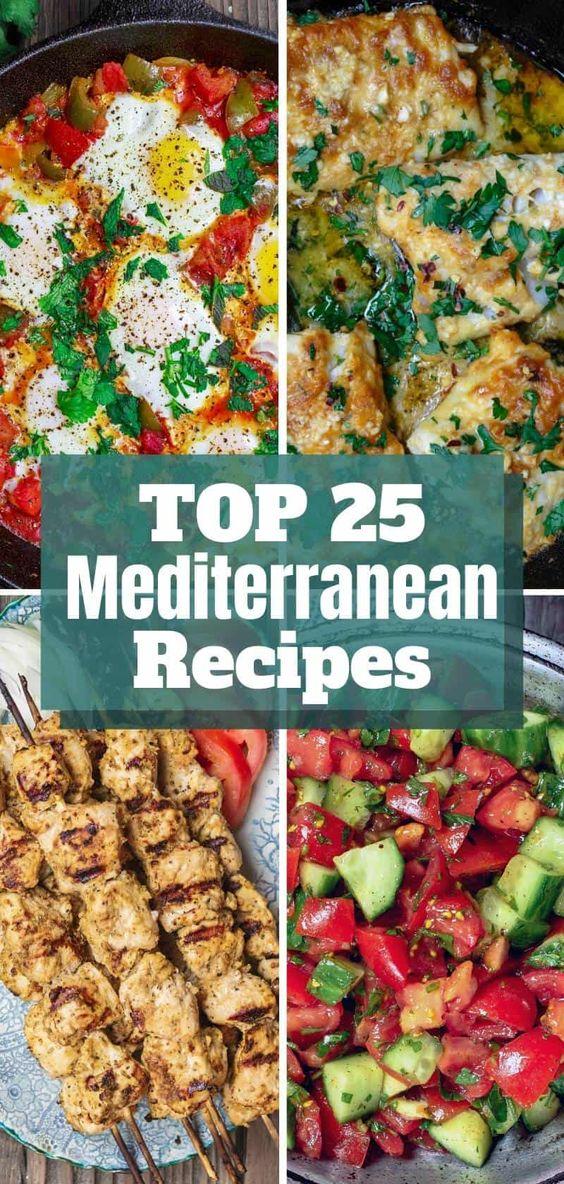 Top VOTED Mediterranean Recipes