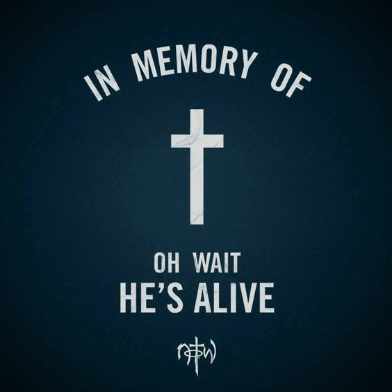 He is not here; he has risen, just as he said. Come and see the place where he lay. ~ Matthew 28:6