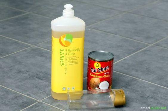 Bevorzugst du natürliche Pflegeprodukte, hast aber kaum Zeit zum Selbermachen? Dieses pflegende Shampoo aus nur zwei Zutaten ist in Windeseile zubereitet!