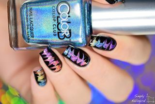 No-water holographic (drag) watermarble!