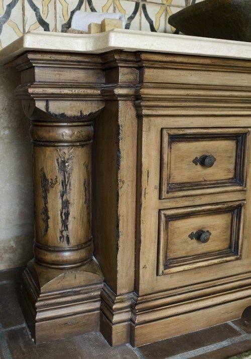 How to Distress Wood Furniture | Furniture, Wood furniture and ...