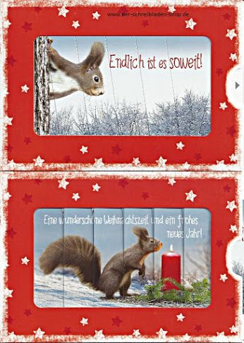 weniger als zwei Wochen und es ist endlich soweit: Weihnachten #ZipKarte von #Hartung  http://bit.ly/1QA5tZ3 #Weihnachtskarte #WeihnachtsZipKarte #postcrossing #Nürnberg #Papeterie  www.der-schreibladen-shop.de