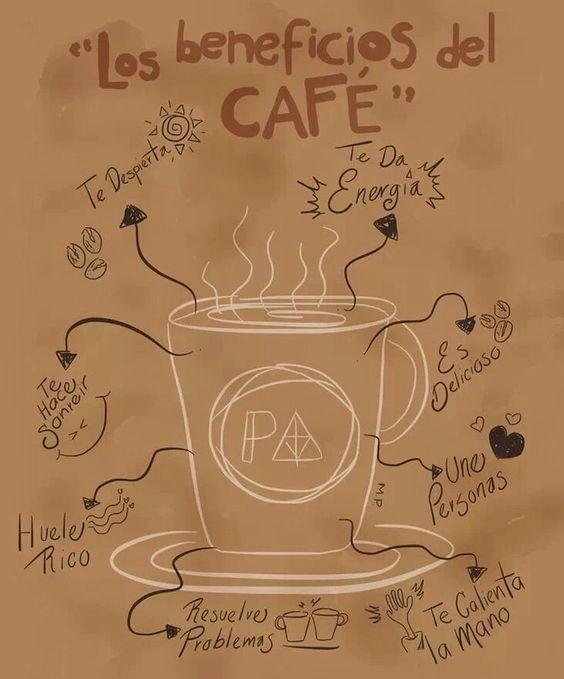 Los beneficios del café...