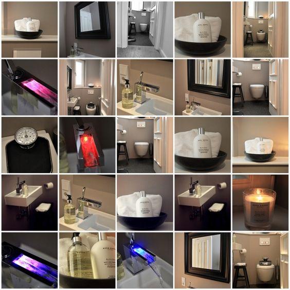 Gäste WC, Tags Badezimmer, Unser Gäste-WC auf einen Blick