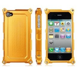 Capa Metal para iPhone 4/4S (Gold)