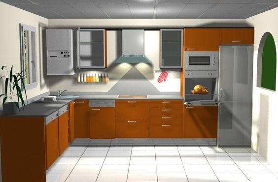 Muebles para cocinas cocinas modernas cocinas americanas for Decoracion para cocinas modernas