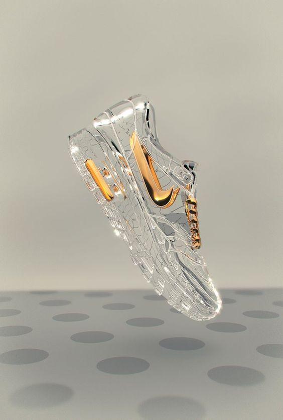¿Alguna vez se han imaginado cómo serían los tenis de Cenicienta? ¿Qué les parece el diseño? ¡Muy originales! #fashion #shoes #cinderella: