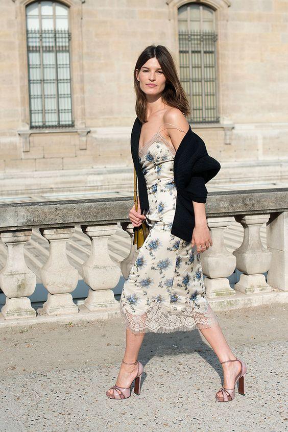 Street style moda en la calle tendencias faldas midi: