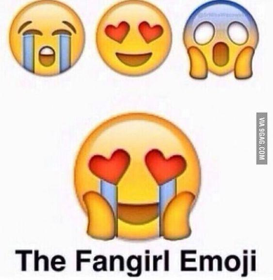 Fangirl Emoji