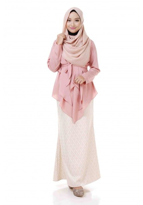 Wrap Cardigan (Dusty Pink) | Fashion - Raya Pieces | Pinterest ...