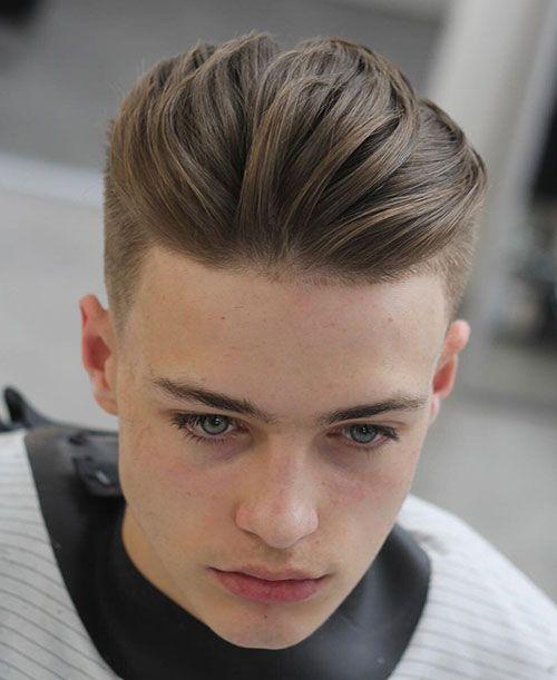 75 Cool Slicked Back Hairstyles For Men The Biggest Gallery Hairmanz 2021 Oglan Cocugu Sac Modelleri Erkek Sac Kesimleri Uzun Sacli Erkek