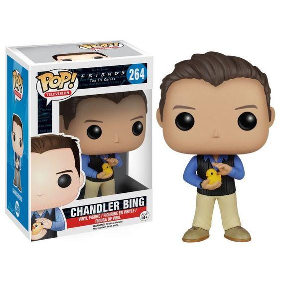 Figurine F.R.I.E.N.D.S - Chandler Bing Pop 10cm - Oyoo
